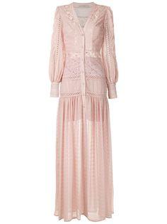Martha Medeiros длинное платье-рубашка