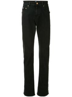 Versace Jeans Couture джинсы прямого кроя с принтом baroque