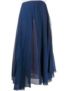 Roland Mouret юбка макси в стиле колор-блок