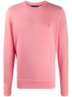 Tommy Hilfiger пуловер с вышитым логотипом