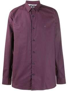 Tommy Hilfiger полосатая рубашка с длинными рукавами