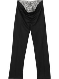 Burberry спортивные брюки с кристаллами