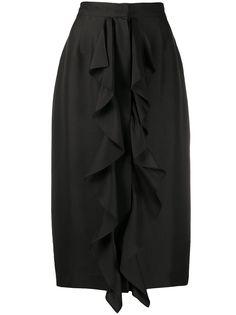 Max Mara юбка с оборками