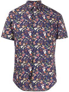 Xacus рубашка с короткими рукавами и принтом