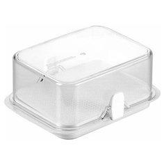 Tescoma Kонтейнер для холодильника Purity масленка прозрачный/белый