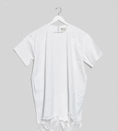 Джинсовое платье-рубашка мини ASOS DESIGN Curve-Белый