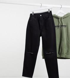 Черные джинсы в винтажном стиле с рваной отделкой Reclaimed Vintage-Черный