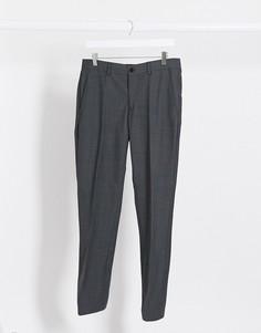 Серые узкие брюки Esprit-Серый