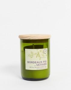 Свеча с ароматом бордоского инжира и ветивера ECO-Бесцветный Paddywax