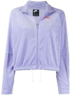 Nike укороченная куртка на молнии