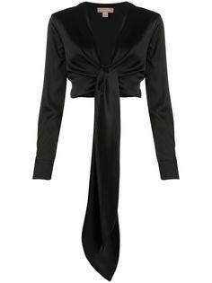 Matériel блузка с завязками на талии