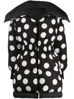 Dolce & Gabbana пальто оверсайз в горох
