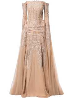 Saiid Kobeisy декорированное вечернее платье