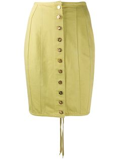 Jean Paul Gaultier Pre-Owned джинсовая юбка 1989-го года
