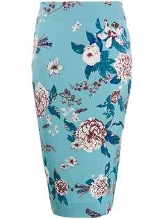 DVF Diane von Furstenberg юбка-карандаш Kara