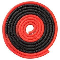 Гимнастическая скакалка утяжелённая Indigo IN166 красно-черный 300 см