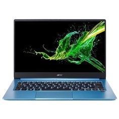 "Ноутбук Acer Swift 3 (SF314-57G) (Intel Core i7 1065G7 1300MHz/14""/1920x1080/16GB/1024GB SSD/DVD нет/NVIDIA GeForce MX350 2GB/Wi-Fi/Bluetooth/Linux) NX.HUFER.001 синий"
