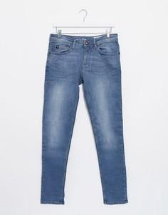 Синие джинсы скинни Tom Tailor-Серый