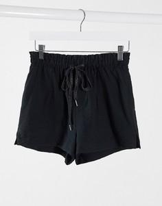 Черные шорты Pimkie-Черный