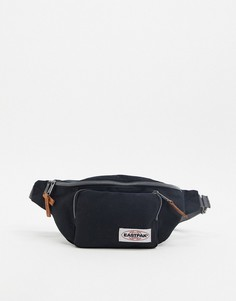 Черная сумка-кошелек с накладным карманом Eastpak-Черный