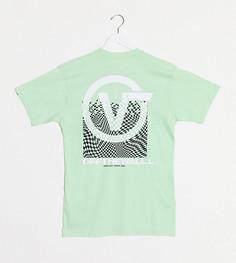 Зеленая футболка Vans эксклюзивно на ASOS-Зеленый