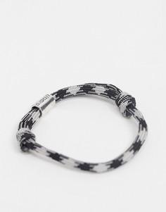 Черно-серый браслет Classics 77-Черный