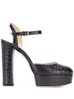 Jimmy Choo туфли Maple 125 с тиснением под крокодила