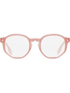 Burberry очки в оправе геометричной формы