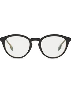 Burberry очки в круглой оправе