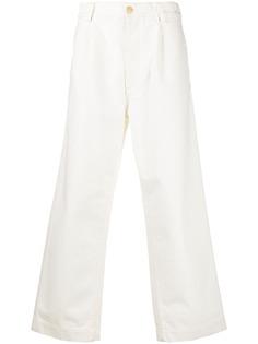 Marni фактурные джинсы широкого кроя