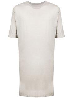 Boris Bidjan Saberi длинная футболка с короткими рукавами