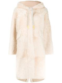 Liska пальто оверсайз с капюшоном