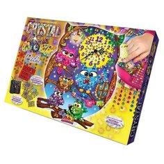 Danko Toys Набор для творчества Настольные часы своими руками Crystal Mosaic Clock Сова (CMC-01-02)