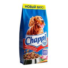 Сухой корм для собак Chappi Сытный мясной обед, Говядина по-домашнему, 15кг