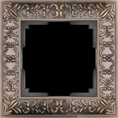 Рамка для выключателя Werkel WL07-Frame-01 a029838 бронза