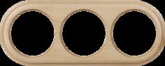 Рамка для выключателя Werkel WL15-frame-03 a037246 светлый бук