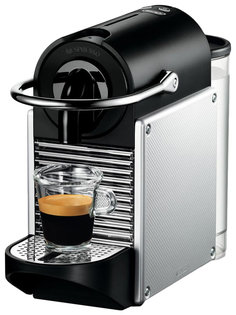 Кофемашина капсульного типа DeLonghi EN 125.S Grey/Black Delonghi