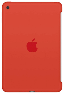 Чехол Apple Silicone Case для Apple iPad Mini 4 Orange (MLD42ZM/A)