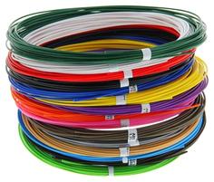 Набор пластика для 3D ручек: ABS-15 по 10 метров 15 цветов в коробке Unid