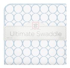 Фланелевая пеленка SwaddleDesigns Ultimate Blue Mod on WH