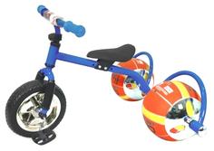 Велосипед с колесами в виде мячей Баскетбайк синий Bradex