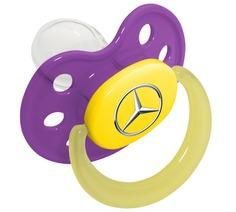 Соска-пустышка Mercedes Soother, Purple, артикул B66953250
