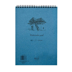 "Альбом на спирали для акварели Smiltainis ""Watercolor pad"", А5, 20 л"