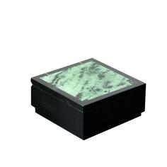 Шкатулка, 7,5х7,5х3,5 см, циозит, долерит Sima-Land
