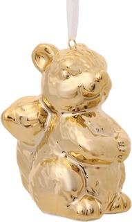"""Украшение елочное """"Золотая белочка"""", 3x3,5x6,6 см Феникс Презент"""