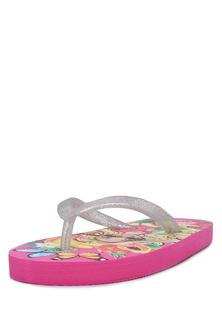 Сланцы детские Barbie, цв. розовый р.27