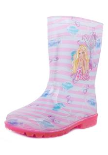 Резиновые сапоги для девочек Barbie, цв. разноцветный, р-р 29