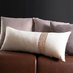 Подушка декоративная Pikamo 70x30см, цвет молочный