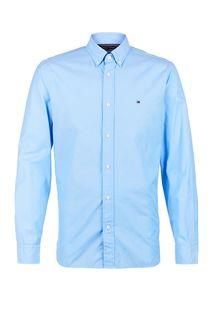 Рубашка мужская Tommy Hilfiger MW0MW12169 C39 синяя M
