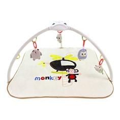 Развивающий коврик Konig Kids Веселая обезьянка/Слон, с проектором